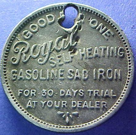 SMITH BROS  HARDWARE SALES CO  / (old gasoline iron